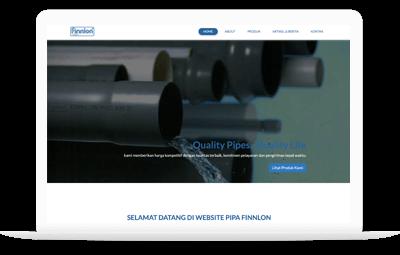 Jasa Pembuatan Website & Aplikasi Android Medan - Finnlon PVC